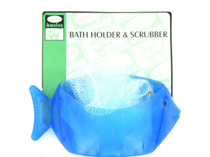 Fish-shaped holder with scrubber included is now on sale