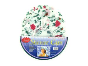 3 Pack shower caps is now on sale