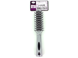Silver hair brush
