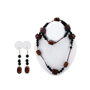 Comfy Plane's beaded necklace/earrings