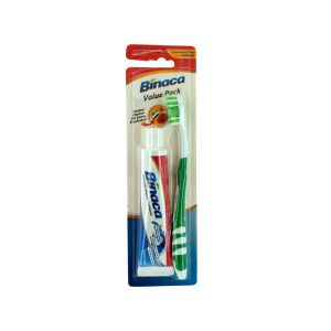 Comfy Plane's toothbrush/paste value pack