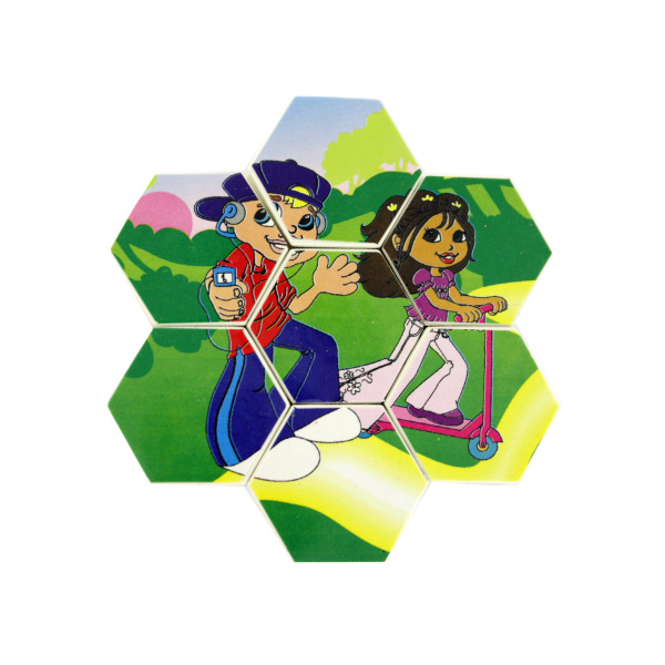 Two sided small Pop Kids puzzle | bulk buys