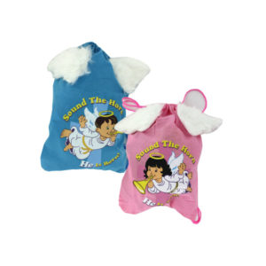 Sound The Horn Backpack With Angel Wings | bulk buys