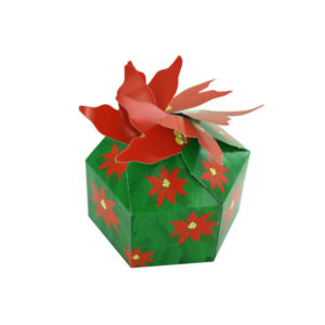 3-D Poinsettia Gift Boxes | bulk buys