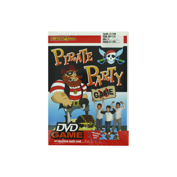 DREWS Famous Pirate Party Game DVD | bulk buys