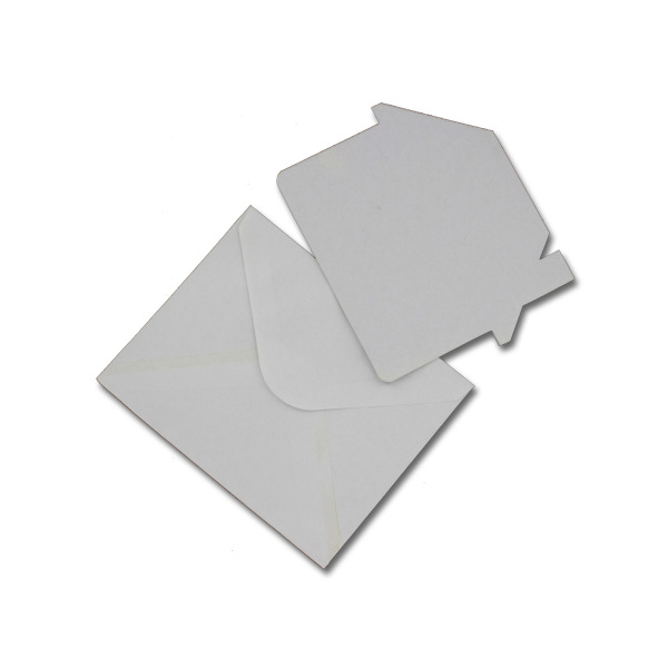 Blank White House-Shaped Card Set | bulk buys