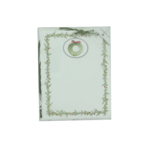 Emb Panel Holiday Cards With Tie-Wreath   bulk buys