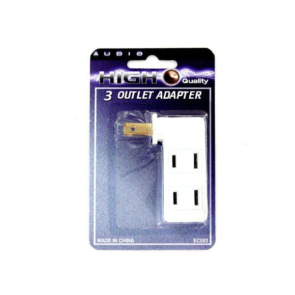 3-in-1 Outlet Adapter | audio
