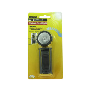 Flashlight with swivel head | sterling
