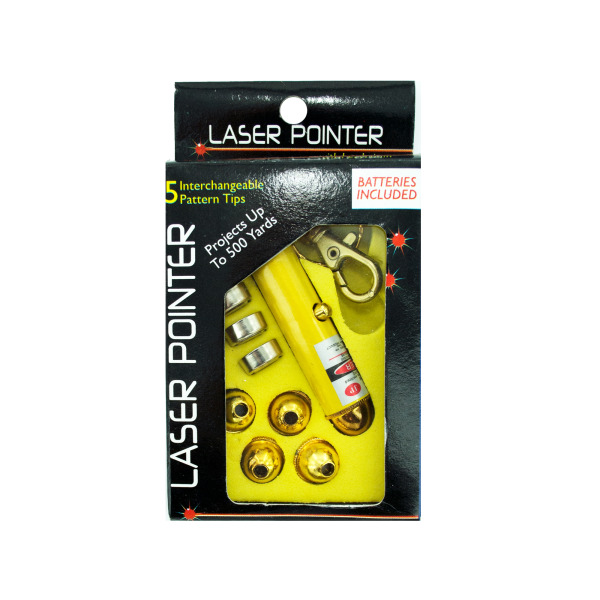Laser Pointer With Interchangeable Heads   bulk buys