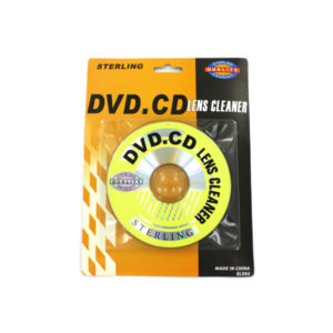 CD and DVD lens cleaner | sterling