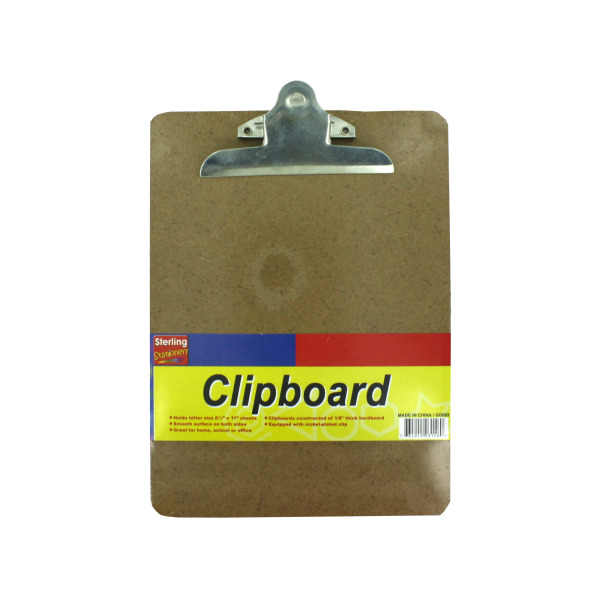 Wood Clipboard | sterling