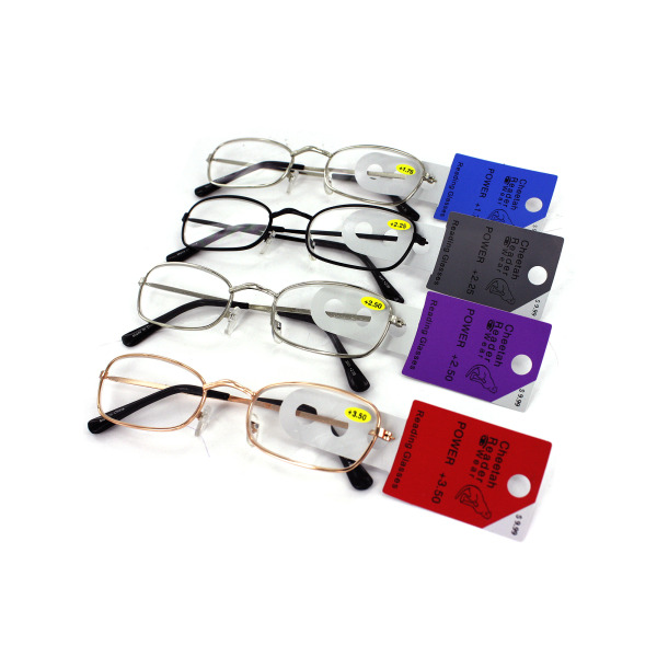 Assorted Colors Metal Readers | bulk buys