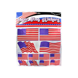 American flag laser stickers | bulk buys
