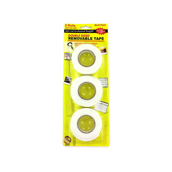 3 Pack double-sided tape | bulk buys