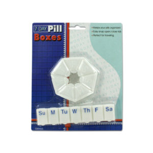 2 pack of seven day pill boxes | bulk buys