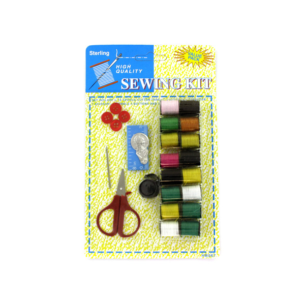 All-in-one sewing kit | sterling
