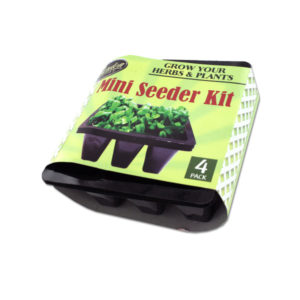 4 Pack miniature seeder kit | garden depot