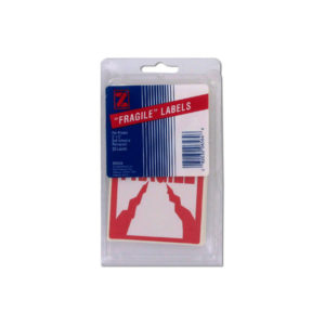 20 pack 3 x 5 pre-printed fragile labels | bulk buys