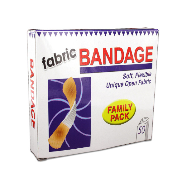 Fabric Bandages. | bulk buys