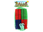 Multi-color plastic clothespins | bulk buys