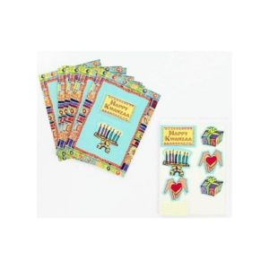 Kwanzaa note cards with envelopes, pack of 8 | bulk buys