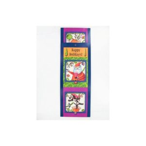 Festive Santa Juggle card holder | bulk buys