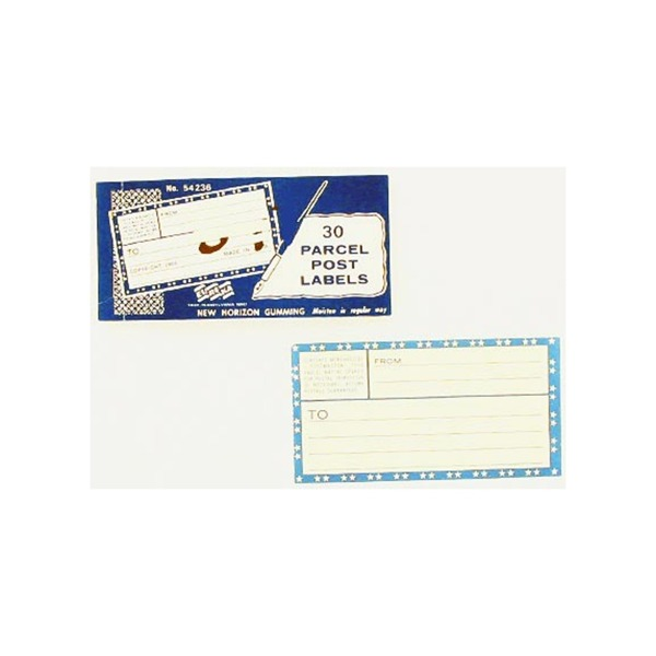 Postage labels, pad of 30 | bulk buys