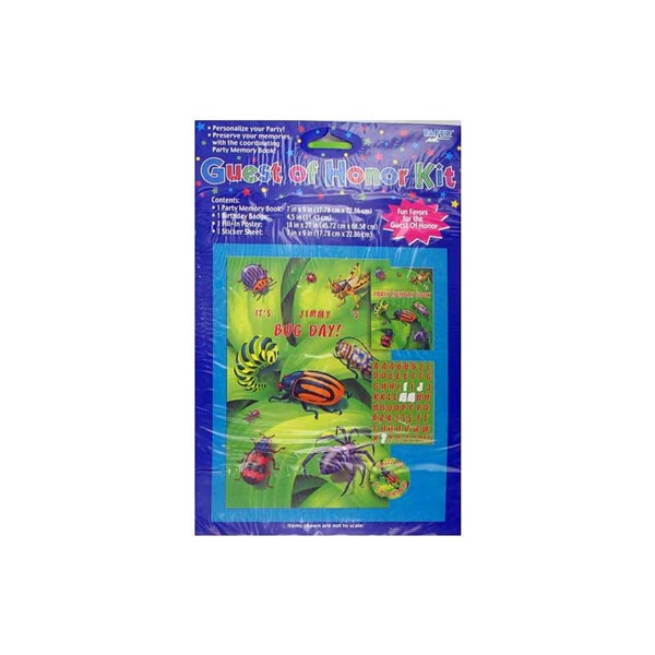 bugs everywhere party kit | bulk buys