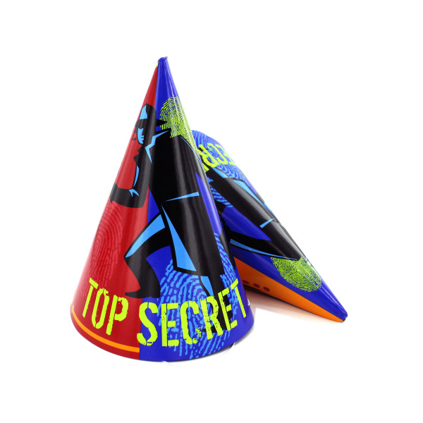 party hats 8 pack | bulk buys