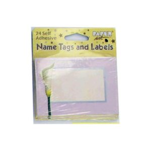 24 piece self stick nametags | bulk buys