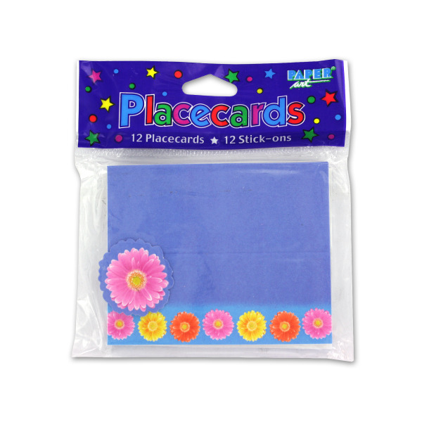 Gerber Daisy place cards, pack of 12 | bulk buys