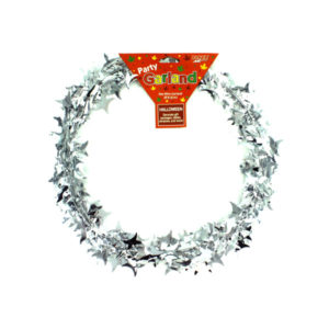 20 ft. silver razor-look wire garland | bulk buys