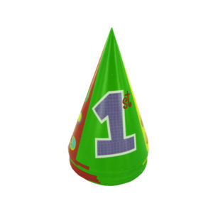 1st birthday party hats, polka dots, pack of 8 | bulk buys