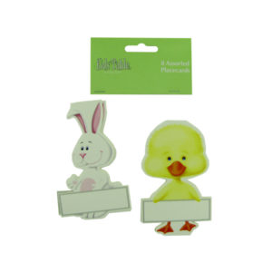 Bunny and chick place cards, pack of 8 | bulk buys