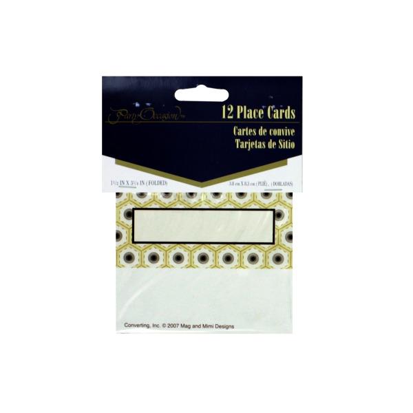 Deco placecards, pack of 12 | bulk buys