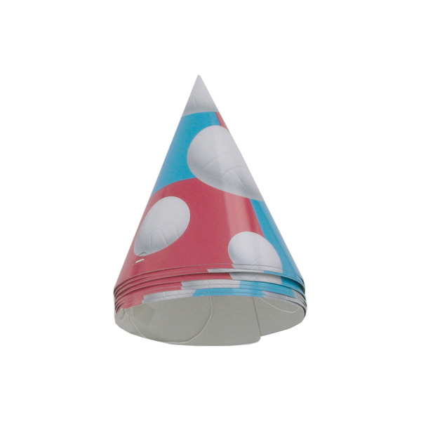 Volleyball party hats, 8 count | bulk buys