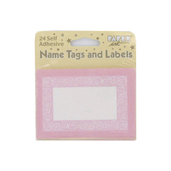 Self-adhesive tags and labels, pack of 24 | bulk buys