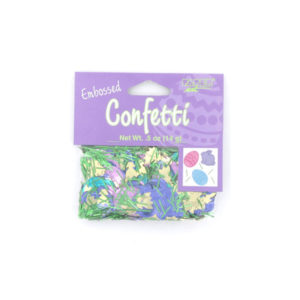 easter fun embossed confetti mix .5 ounce bag | bulk buys