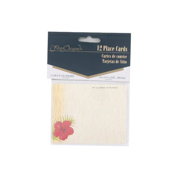 Floral Chic place cards, pack of 12 | bulk buys