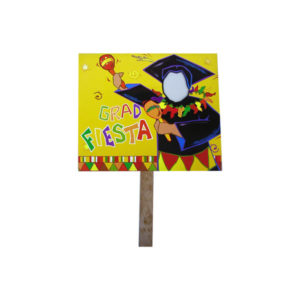 grad fiesta two sided yard sign | bulk buys