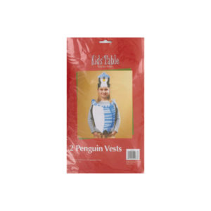 Holiday Fun penguin vests, pack of 2   bulk buys