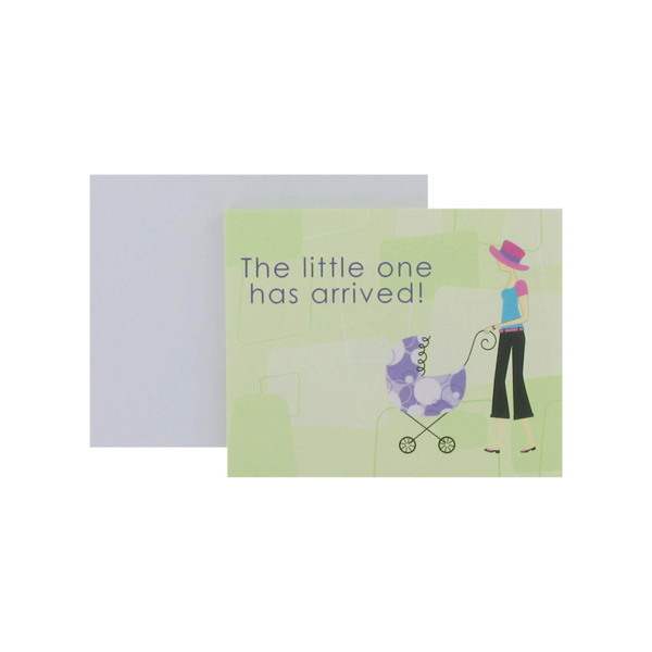 Baby announcements with modern mom, set of 8   bulk buys