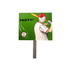 baseball photo yard sign | bulk buys