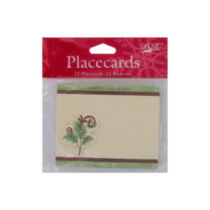 Woodland Holiday placecards, pack of 12 | bulk buys
