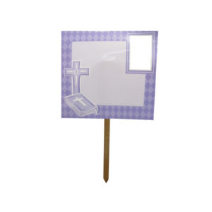 Confirmation/communion photo yard sign | bulk buys