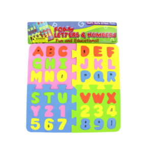 Foam Letter and Number Puzzle | bulk buys