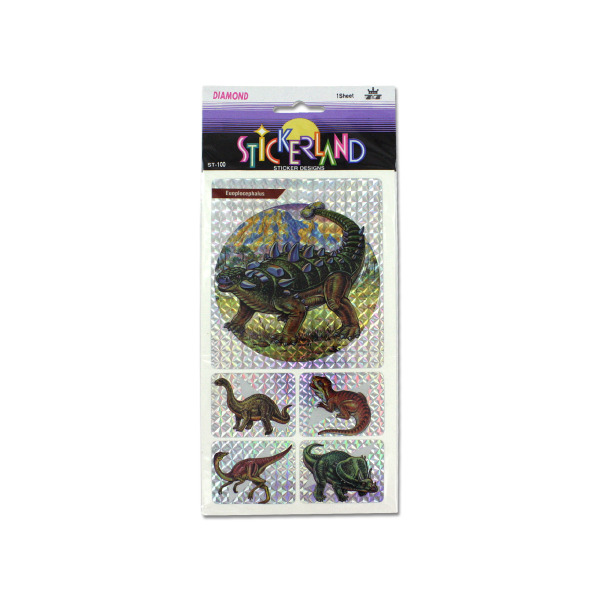 Choice of dinosaur sticker sheets | bulk buys