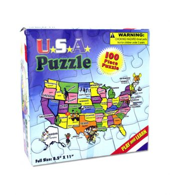 100-piece USA puzzle | bulk buys