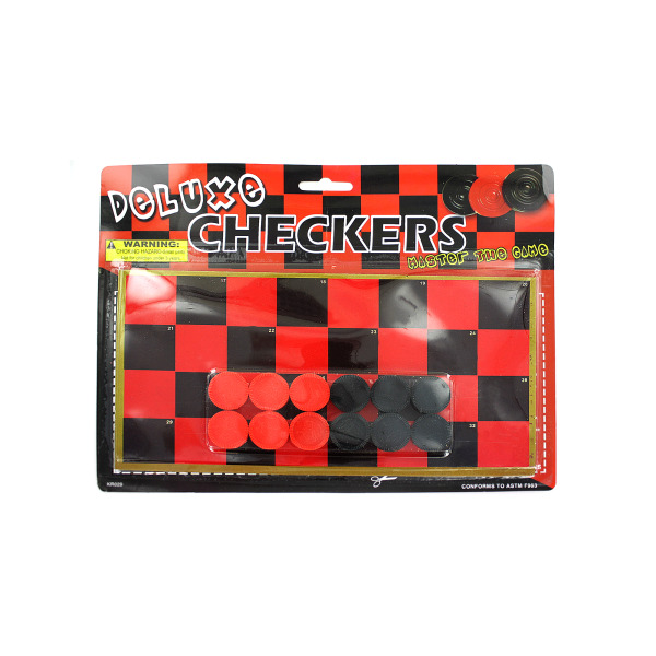 Toy Checkerboard with Checkers | bulk buys